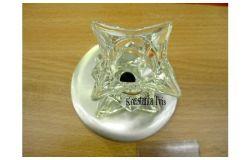 Armatūra dekoratīva G4, Vito, VT177, balts, stikls