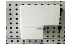 Līkums kabeļkanāliem 90*, balts, 80x60, (12)