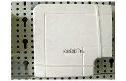 Līkums kabeļkanāliem 90*, balts, 100x60, (8)