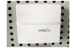 Noslēgs kabeļkanālam balts, 60x25/60x40/60x60, (30)