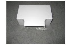 Pareja T-veida kab.kan balts, T-veids, 80x60