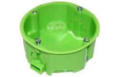 Nozarkārba Spelsberg, reģipšu, 1-viet., IP30, zaļš, 68x35mm
