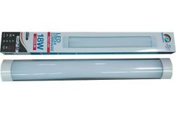 Gaismeklis lineārais LED, Brillight, PROF, 220-240V, 18W, 1600lm, 4000K, IP20, v/a, L600mm