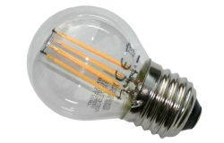 Kvēlspuldze G45, E27, LED, Brillight, 185-265V, 4W, 430lm, 2700K, 360*