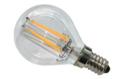 Kvēlspuldze G45, E14, LED, Brillight, 185-265V, 4W, 430lm, 2700K, 360*