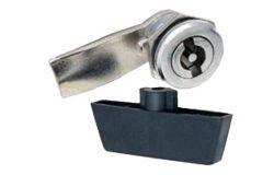 Slēdzenes mehanisms metala sadalnei IEK, metāls