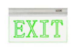 Gaismeklis avārijas LED, Horoz, ZOFF, EXIT, 1.5W, 50lm, IP20, L360mm, H195mm, 220-240V, griestu