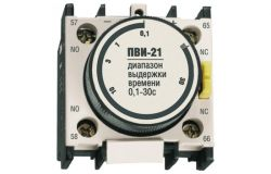 Time delay auxiliary contact IEK, IP20