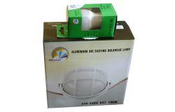 Gaismeklis saunai E27, Brillight, Kompl., 100W, IP54, melns, +10W LED, apaļš