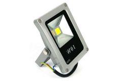 Prožektors LED, Eco Energy, COB, 220-240V, 10W, 650lm, 4000K, balts
