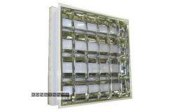 Korpuss LED, Brillight, 4xT8, IP20, z/a, divp., L600mm, W600mm