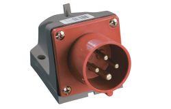 Kontaktdakša IEK, 16A, 3P+PE, 380V, IP44, stacionārā