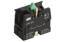 Block contactor IEK, NO, LAY5