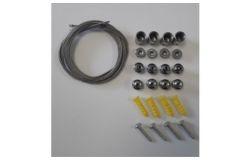Trose stiprinājumiem LED Panelim, ecolight, 60/120x60/30, H1500mm