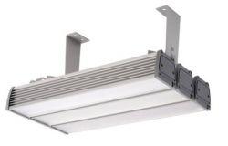 Gaismeklis LED, IEK, 120W, IP65, L500mm, W190mm, H205mm,  piekarināms, taisnstūra, sudraba krāsā