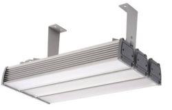 Gaismeklis LED, IEK, 180W, IP65, L1000mm,  W105mm, H150mm,  piekarināms, taisnstūra, sudraba krāsā