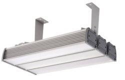 Gaismeklis LED, IEK, 60W, IP65, L500mm, W105mm, H150mm,  piekarināms, taisnstūra, sudraba krāsā