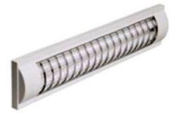 Korpuss gaismeklim IEK, LPO3017, 2x18W, 230V, T8/G13, bez spuldzēm, L637mm, režģots