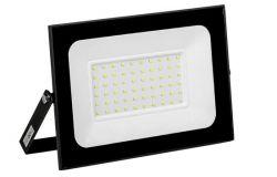 Prožektors LED, IEK, 70W, 5600lm, 6500K, IP65, melns, L247mm, W29mm, H223mm