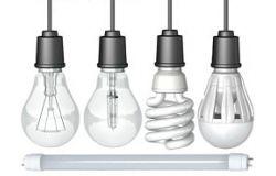 Электрические лампочки, LED лампы, стартеры