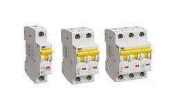 Circuit brakers IEK 7-29;6kA10kA