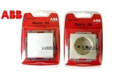 Rozetes un slēdži ABB Basic 55