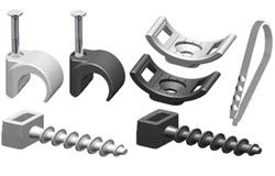 BP, IEK wire fittings for flat and round wires