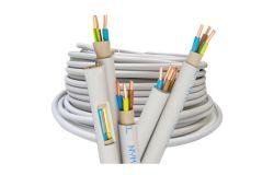 NYM instalācijas kabeļi un vadi, spoles (jebkurš garums)